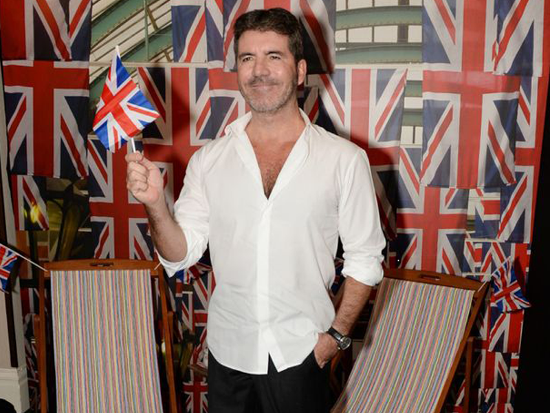 Simon Cowell at the Pride of Britain Awards 2015