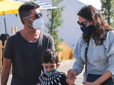 Simon Cowell looking great as he is seen out for the first time since his accident