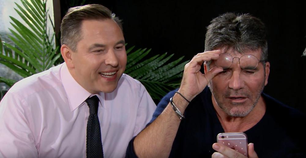 Simon Cowell and David Walliams in Face Swap