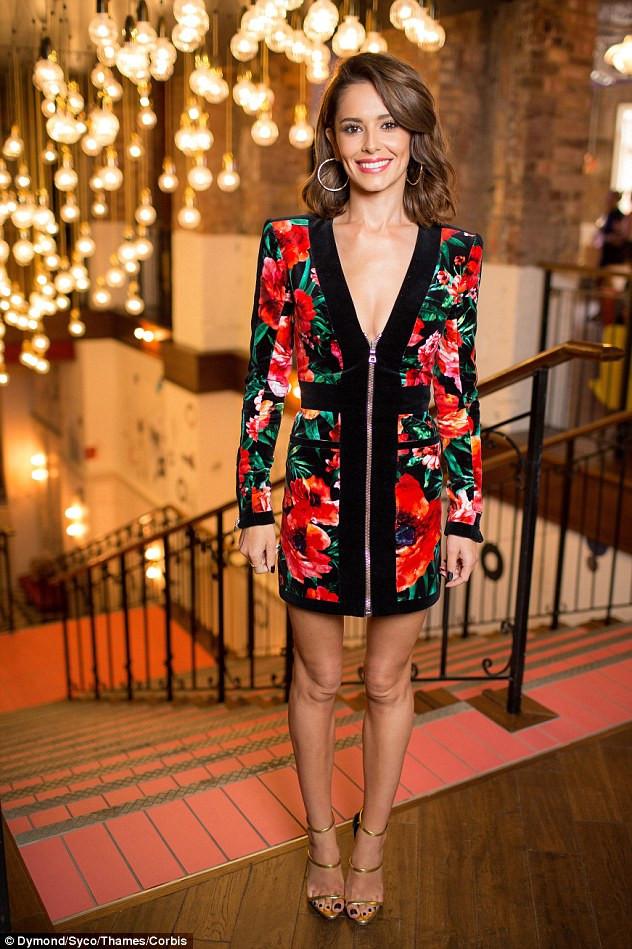 Cheryl Fernandez-Versini at the X Factor launch