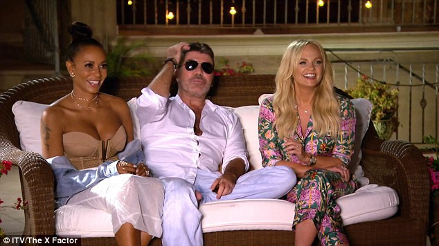 Simon Cowell 'toe gate'