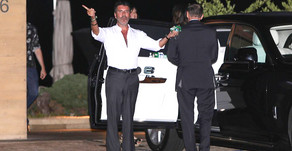 Simon Cowell celebrates his landmark birthday with family and friends
