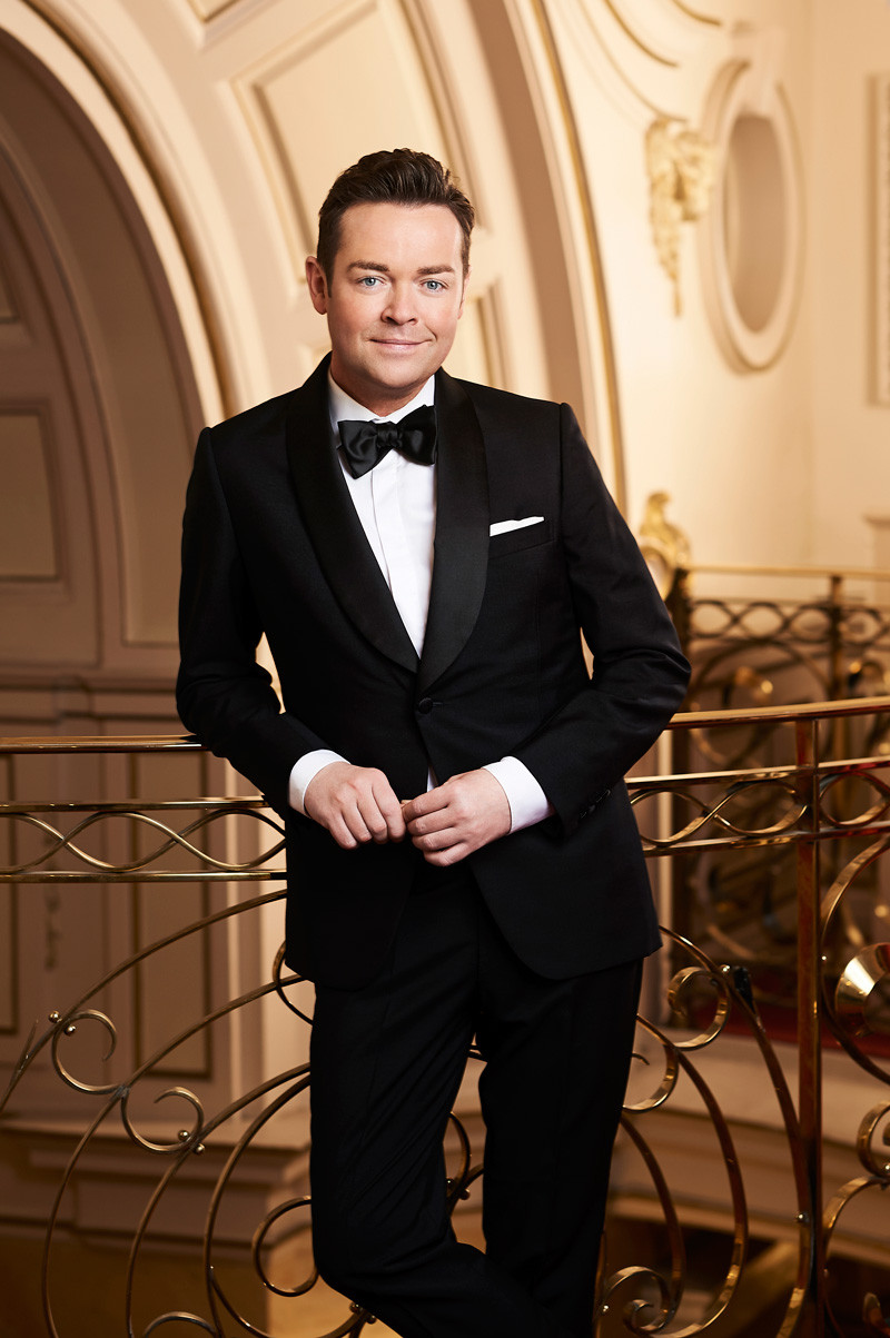 Stephen Mulhern in the Britain's Got Talent photo shoot 2018