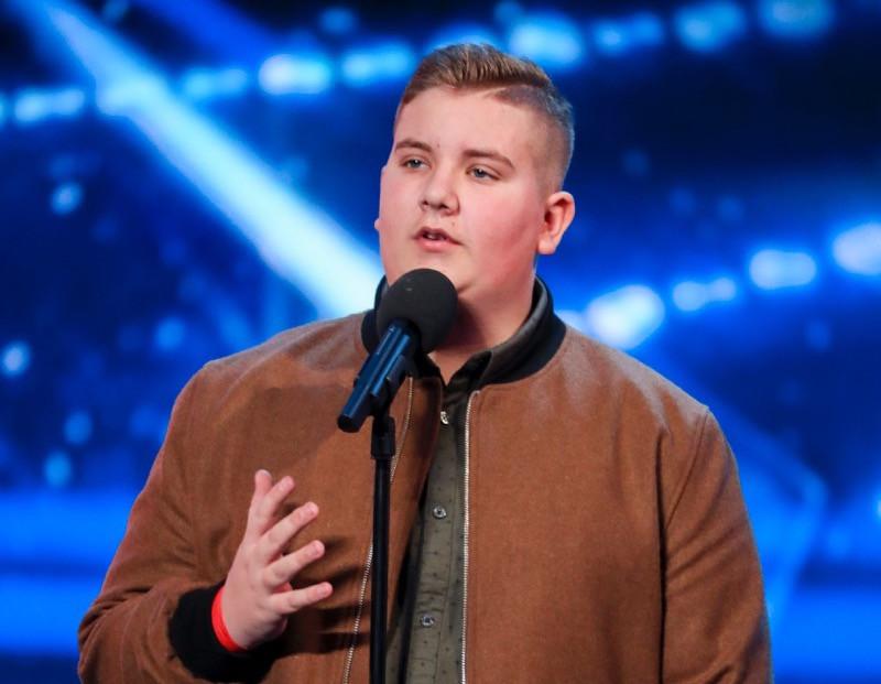 Kyle Tomlinson on Britain's Got Talent 2017