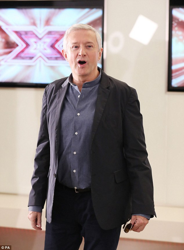 Louis Walsh in Edinburgh for the X Factor auditions.