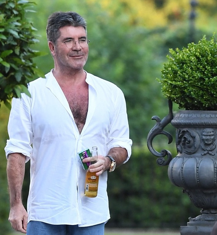 Simon Cowell at the Syco Summer party 2017