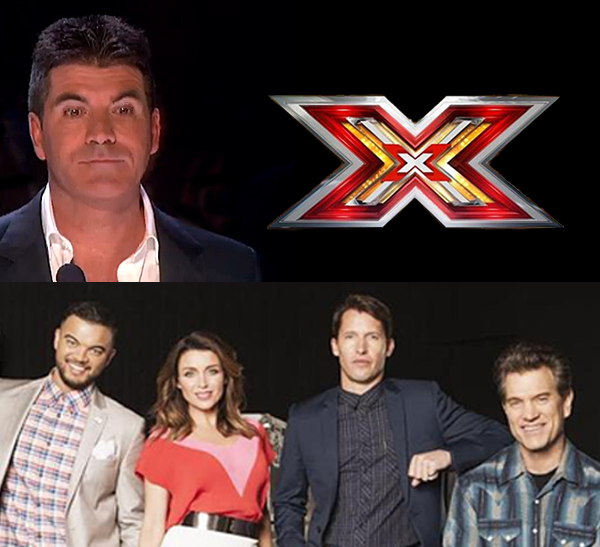 Simon Cowell and Dannii Minogue - X Factor Australia