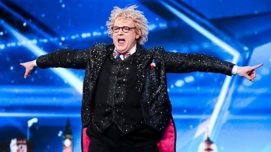 Niels Harder on Britain's Got Talent 2017