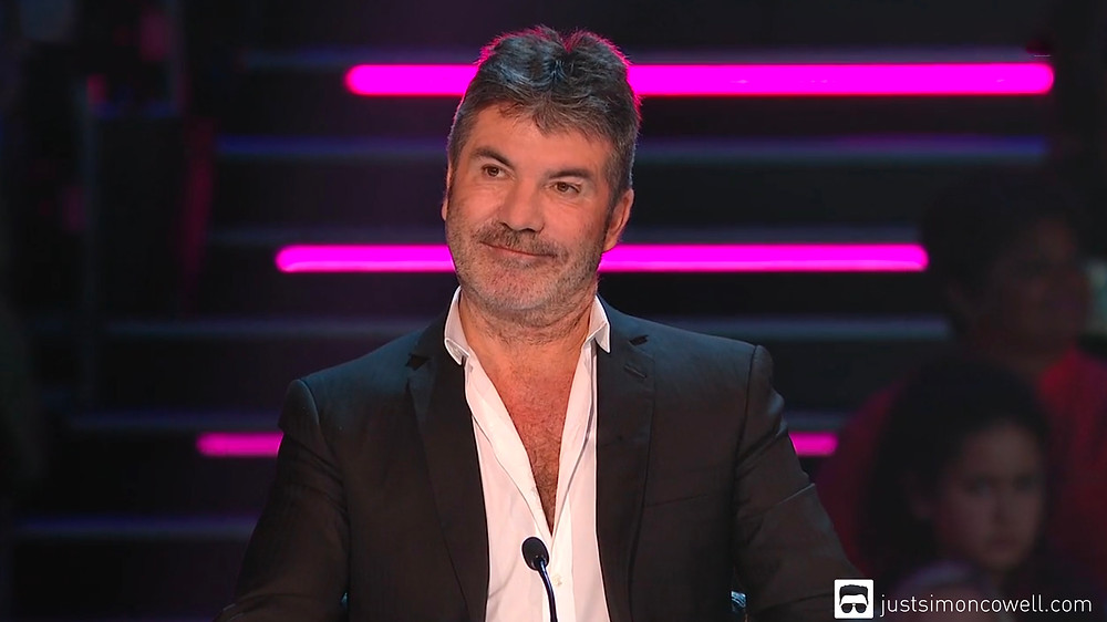 Simon Cowell on the X Factor. simon cowell, x factor