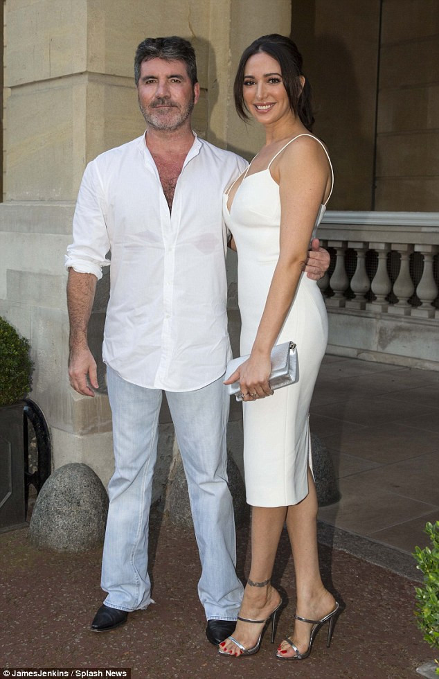 Simon Cowell and Lauren Silverman at the Syco Summer Party