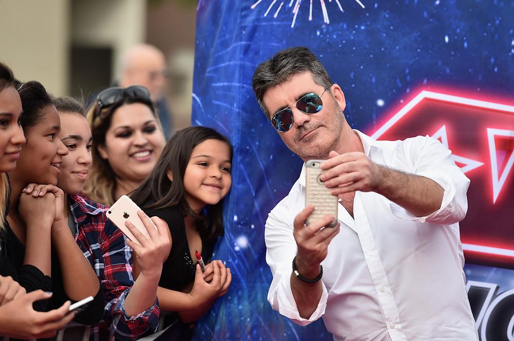 Simon Cowell at America's Got Talent