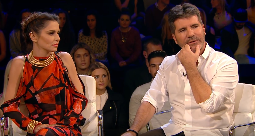 Simon Cowell and Cheryl - X Factor