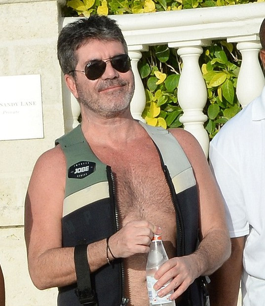Simon Cowell at One Sandy Lane in Barbados