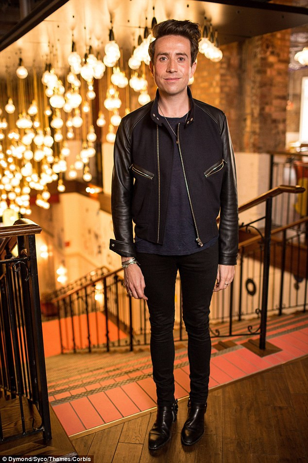 Nick Grimshaw at the X Factor launch