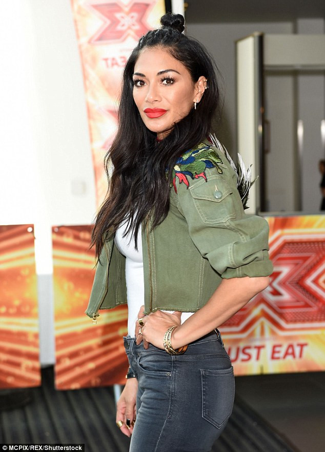 Nicole Scherzinger at Manchester X Factor auditions