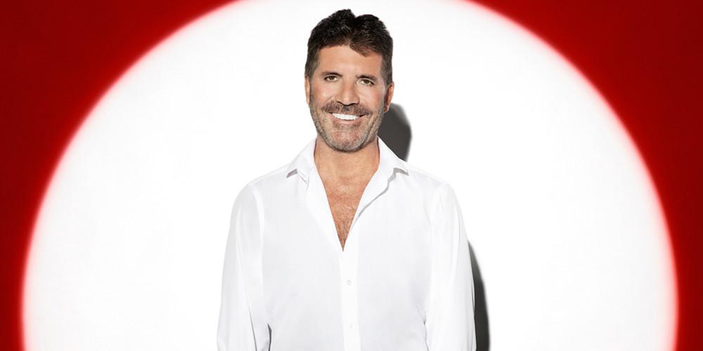 Simon Cowell: X Factor: Celebrity photo shoot