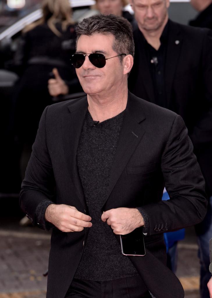 Simon Cowell arrives for Britain's Got Talent in Birmingham