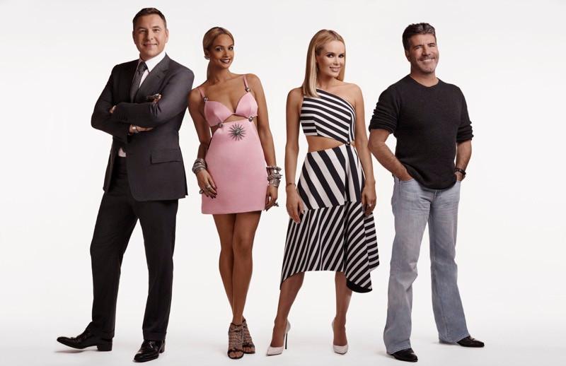 Britain's Got Talent Judges: Simon Cowell, Amanda Holden, Alesha Dixon, David Walliams