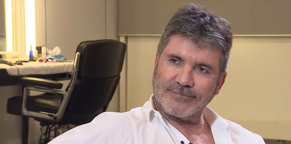 Simon Cowell in an interview