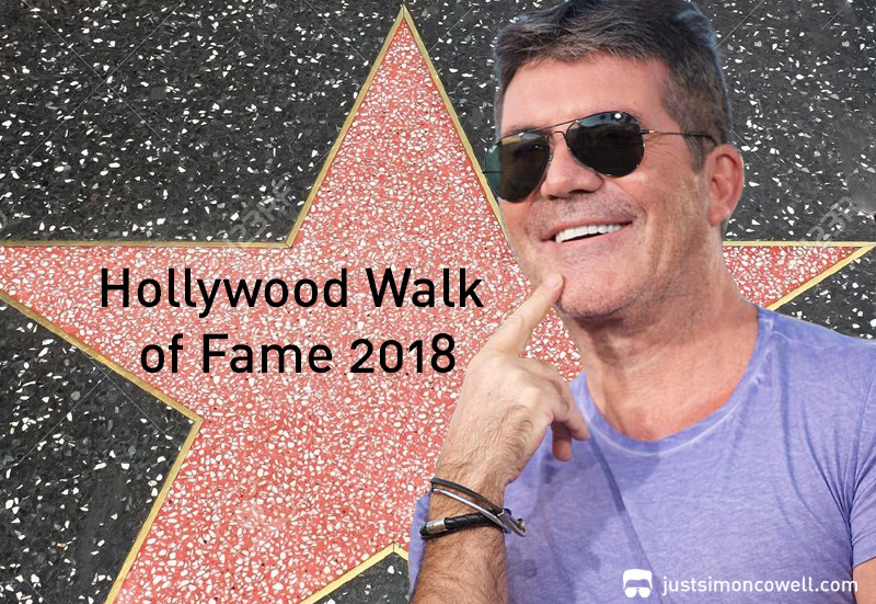 Simon Cowell to receive a Hollywood Walk of Fame Star