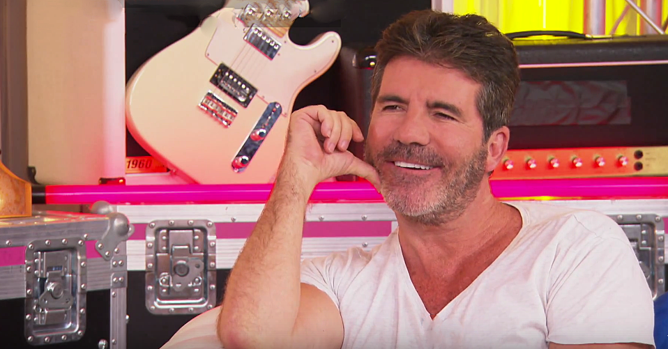 Simon Cowell on Xtra Factor