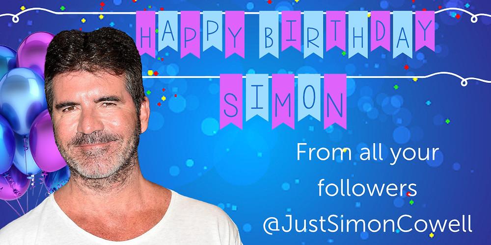 Simon Cowell Birthday 7th October