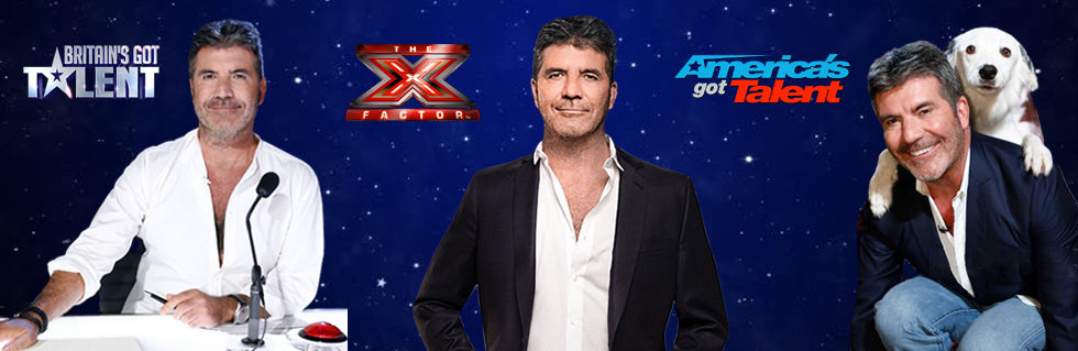Simon Cowell televison shows Brtain's Got Talent, X Factor, America's Got Talet
