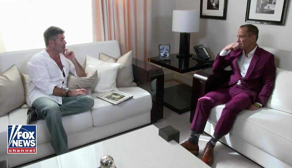 Simon Cowell interview on Fox News