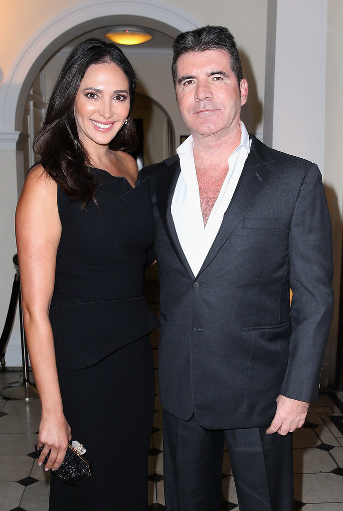 Simon Cowell and Lauren Silverman at the British Asian Trust Dinner