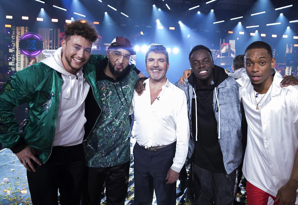 Rak-Su and Simon Cowell winners of The X Factor 2017