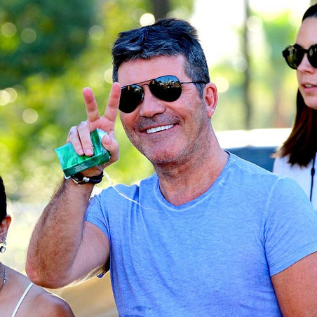 Simon Cowell turns up the colour!