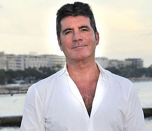 simon cowell in the South of France for MIPCOM
