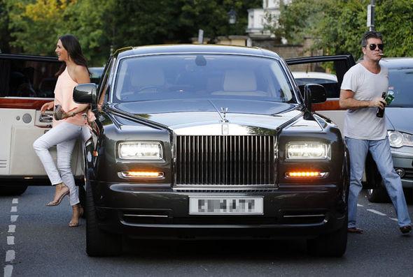 Simon Cowell Rolls Royce