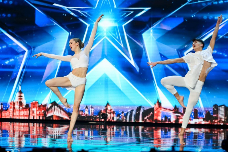 Grace and Ali on Britain's Got Talent 2017