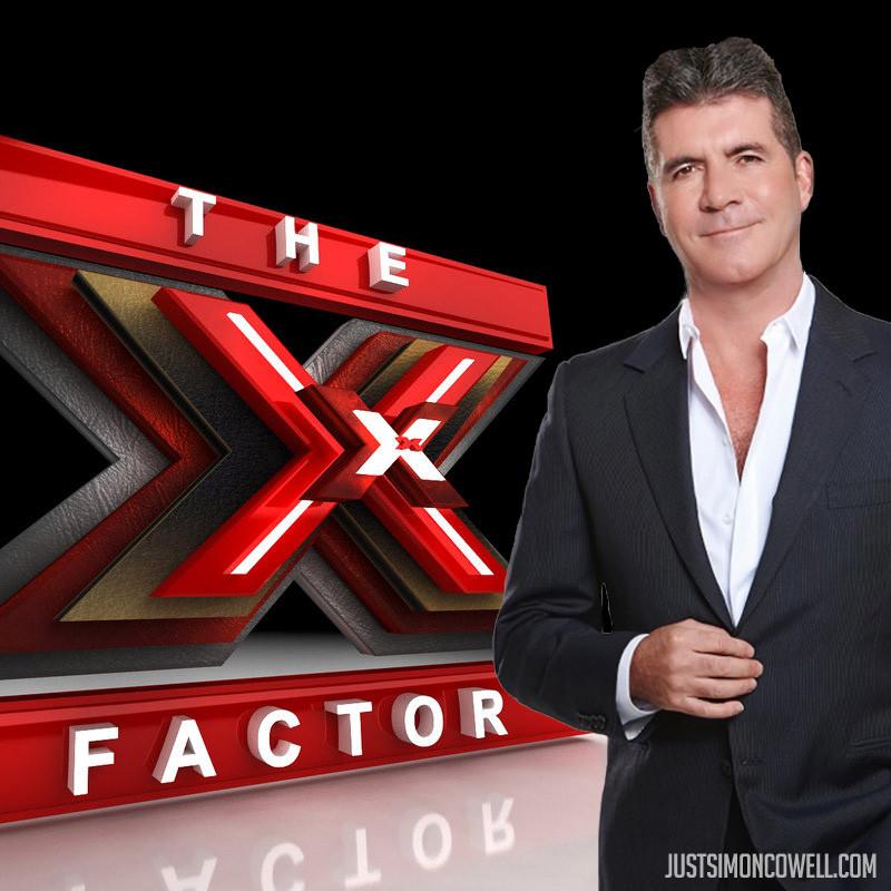 Simon Cowell - X Factor Logo