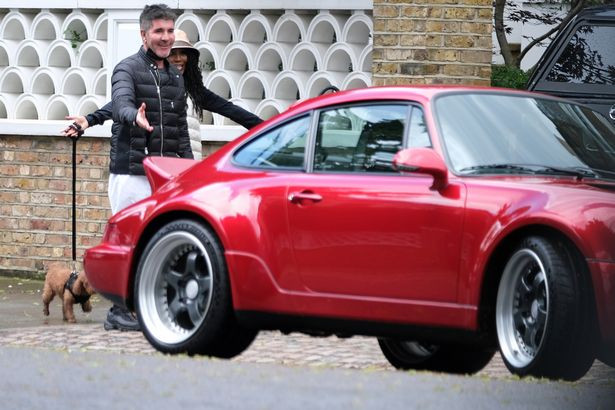 Simon Cowell's new Porsche