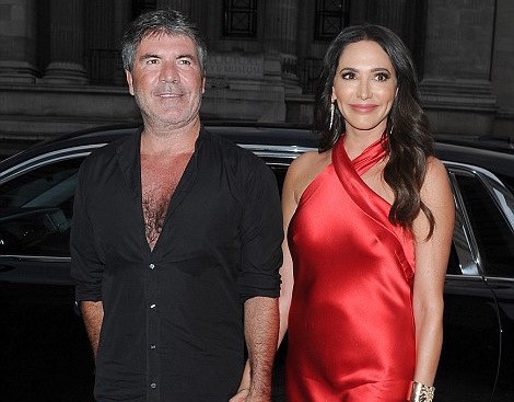 Simon Cowell and Lauren Silverman arrive for the annual Syco  summer party