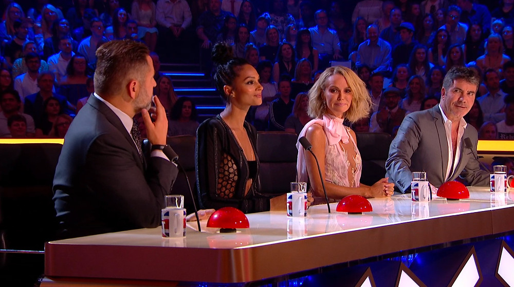 Simon Cowell and the Britain's Got Talent judges
