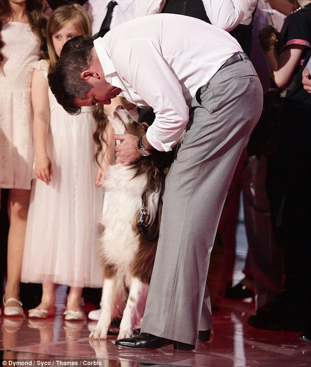 Simon Cowell and Matisse - Britain's Got Talent Final