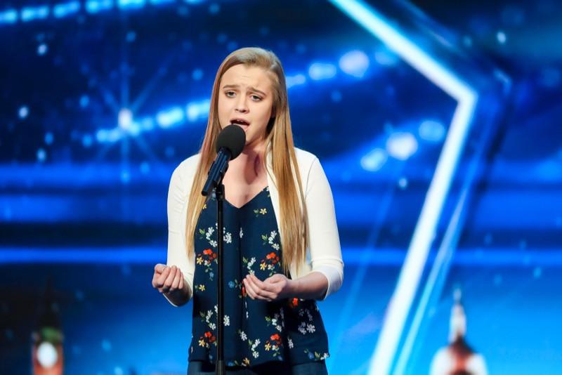 Leah Barniville on Britain's Got Talent 2017