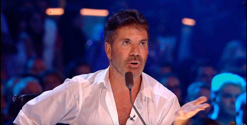 Simon Cowell on Britain's Got Talent - The Champions