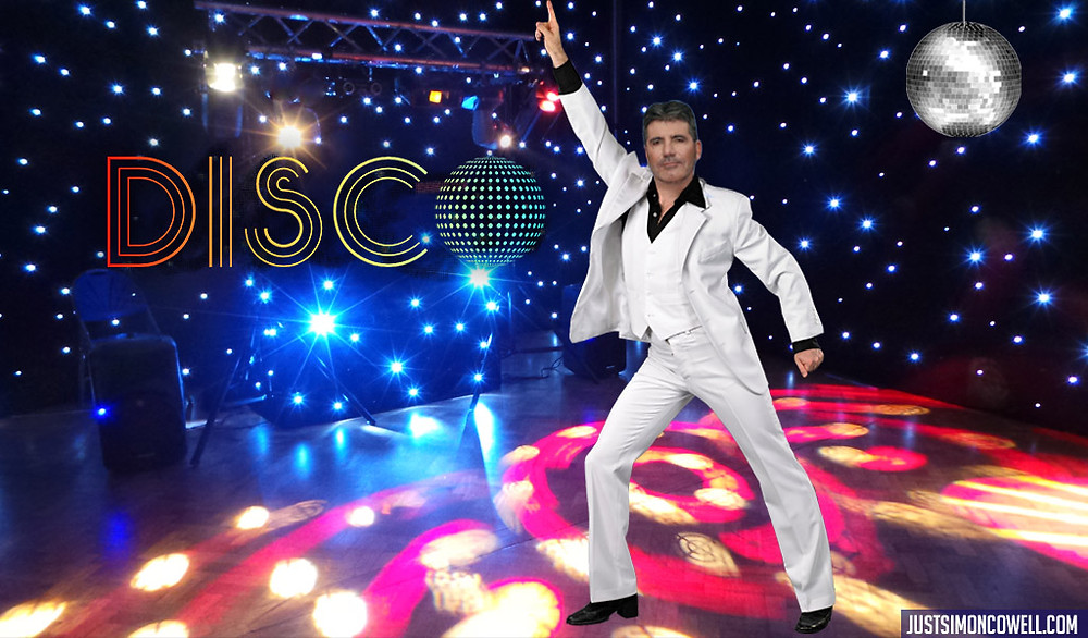 Simon Cowell - Saturday Night Fever