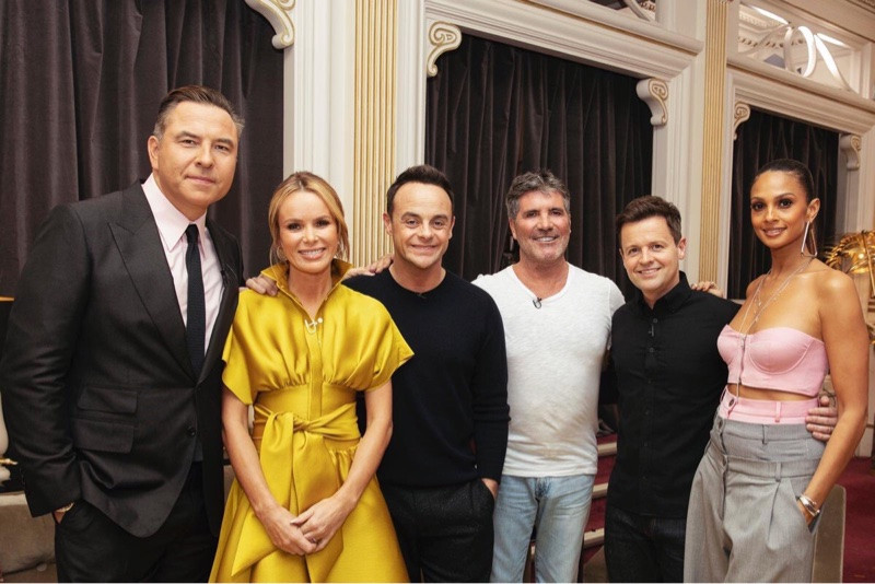 David Walliams, Amanda Holden, Ant McPartlin, Simon Cowell, Declan Donnelly and Alesha Dixon back together for Britain's Got Talent auditions