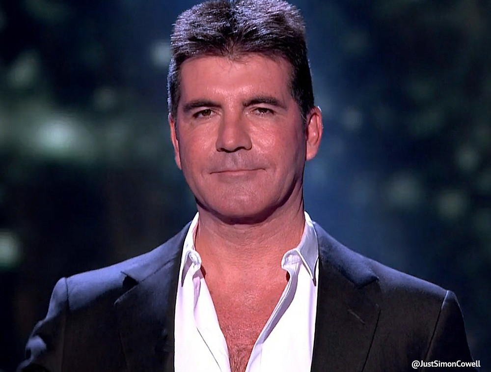 Simon Cowell talking America's Got Talent