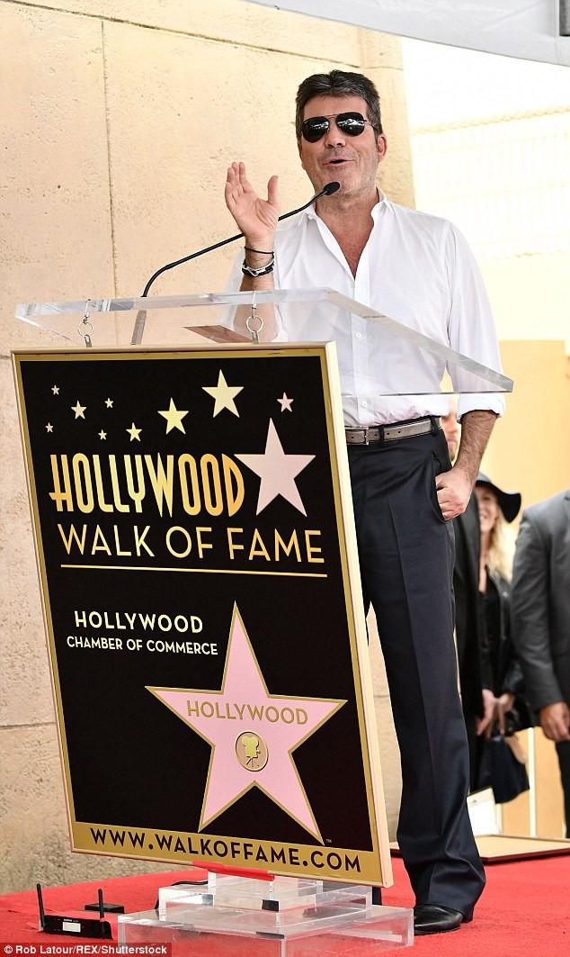 Simon Cowell Walk of Fame