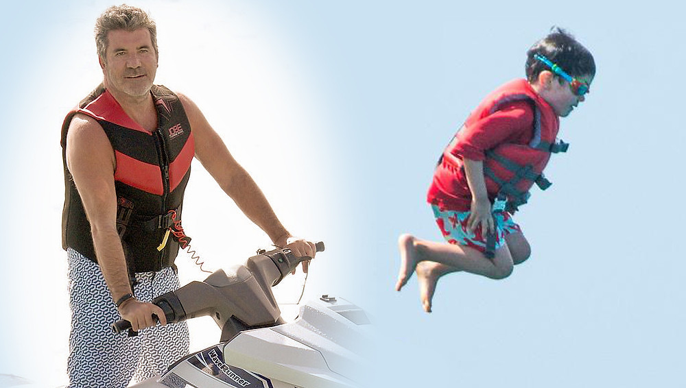 Eric Cowell on the monkey jump in Barbados