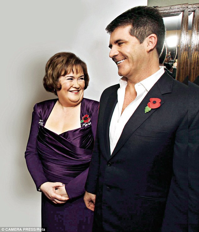 Simon Cowell with Susan Boyle