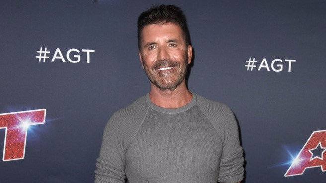 Simon Cowell on the America's Got Talent red carpet