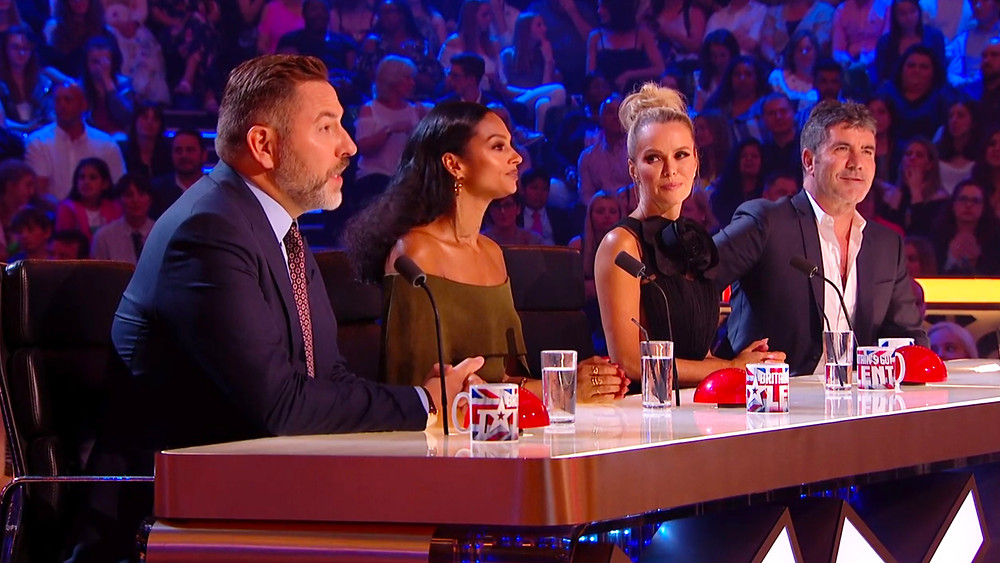 Simon Cowell and the judges on Britain's Got Talent 2017