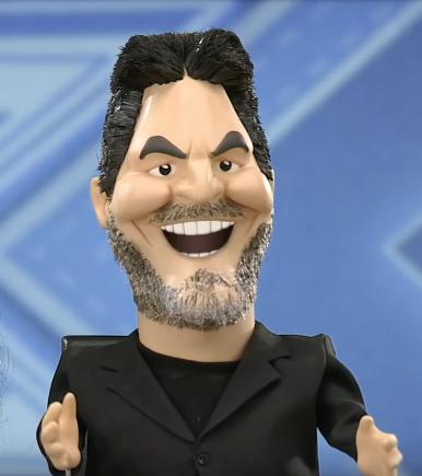 Simon Cowell as a Newzoid